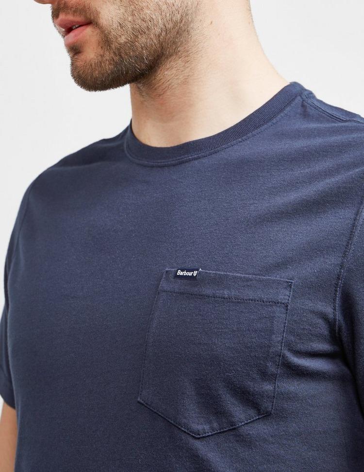 Barbour Logo Pocket Short Sleeve T-Shirt