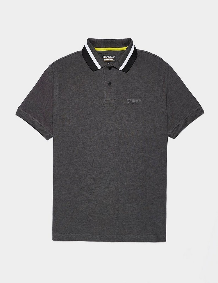 Barbour International Diode Short Sleeve Oxford Polo Shirt