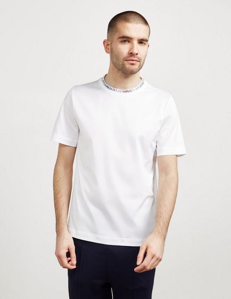 Missoni Ringer Logo Short Sleeve T-Shirt