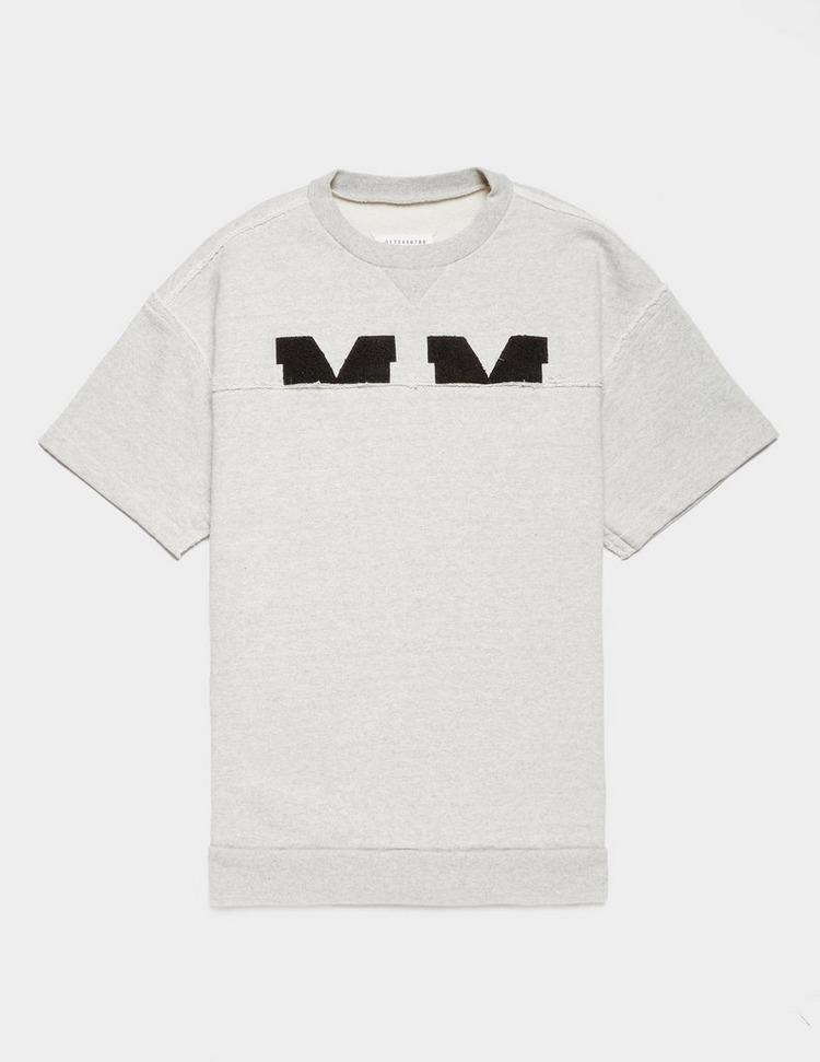 Maison Margiela Cut Sweat Short Sleeve T-Shirt