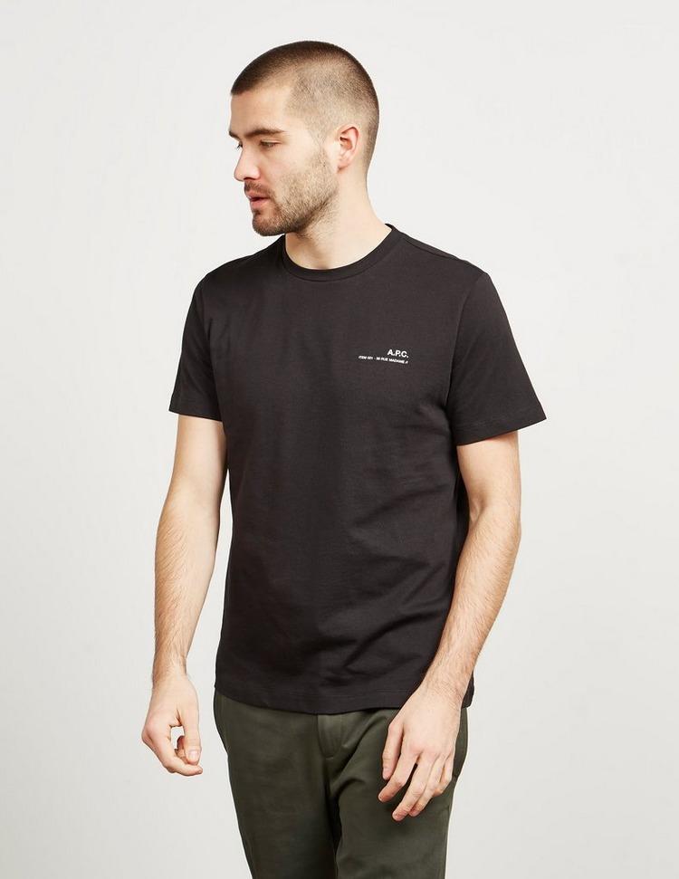 A.P.C Small Logo Short Sleeve T-Shirt