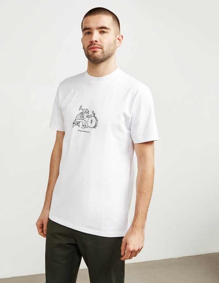 A.P.C Broke Fix Short Sleeve T-Shirt