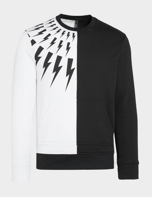 Neil Barrett Half Bolts Sweatshirt