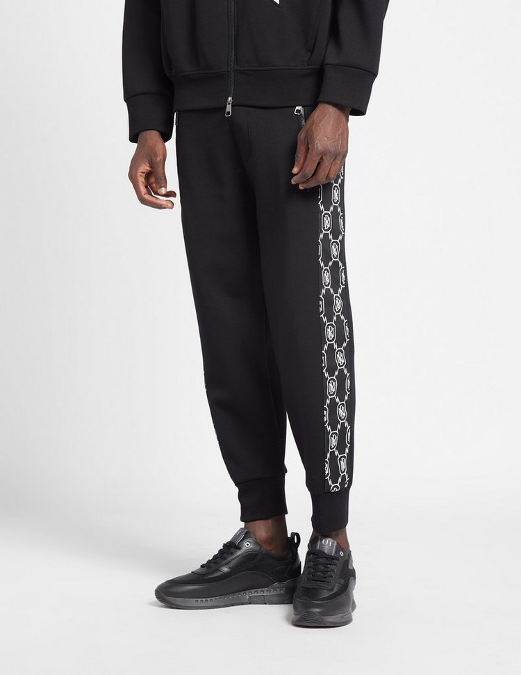 Neil Barrett Monogram Stripe Track Pants