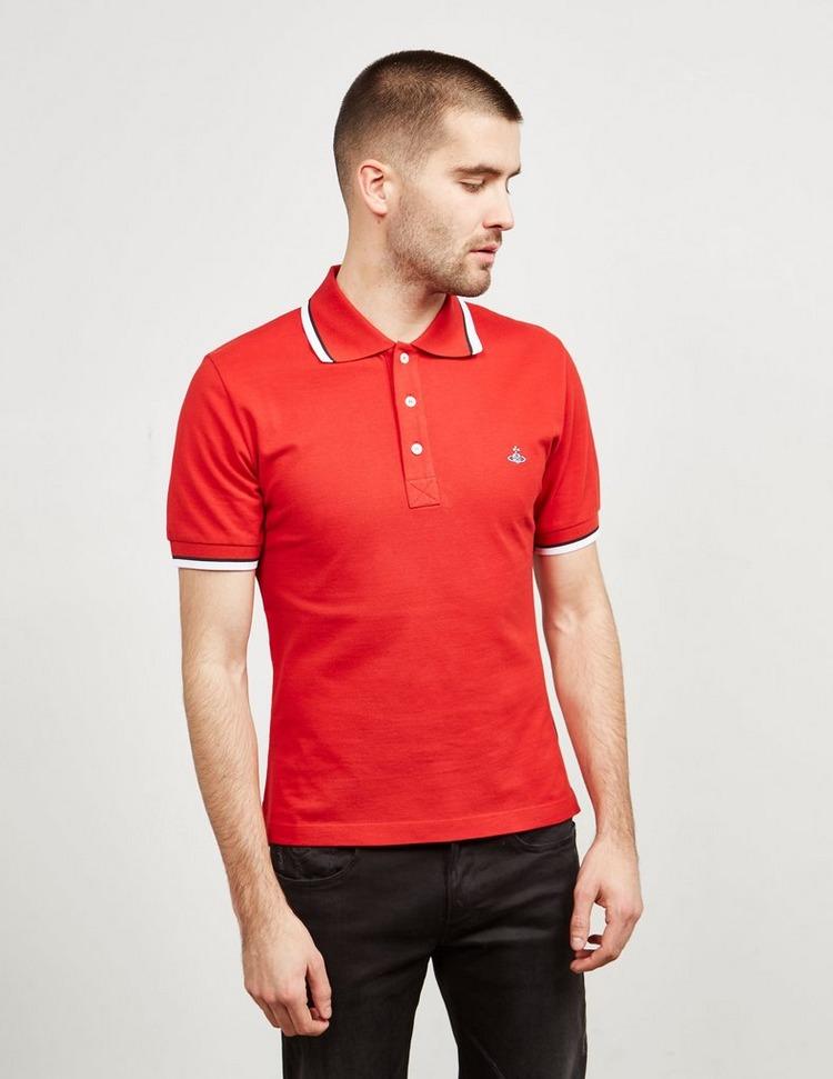 Vivienne Westwood Orb Short Sleeve Polo Shirt