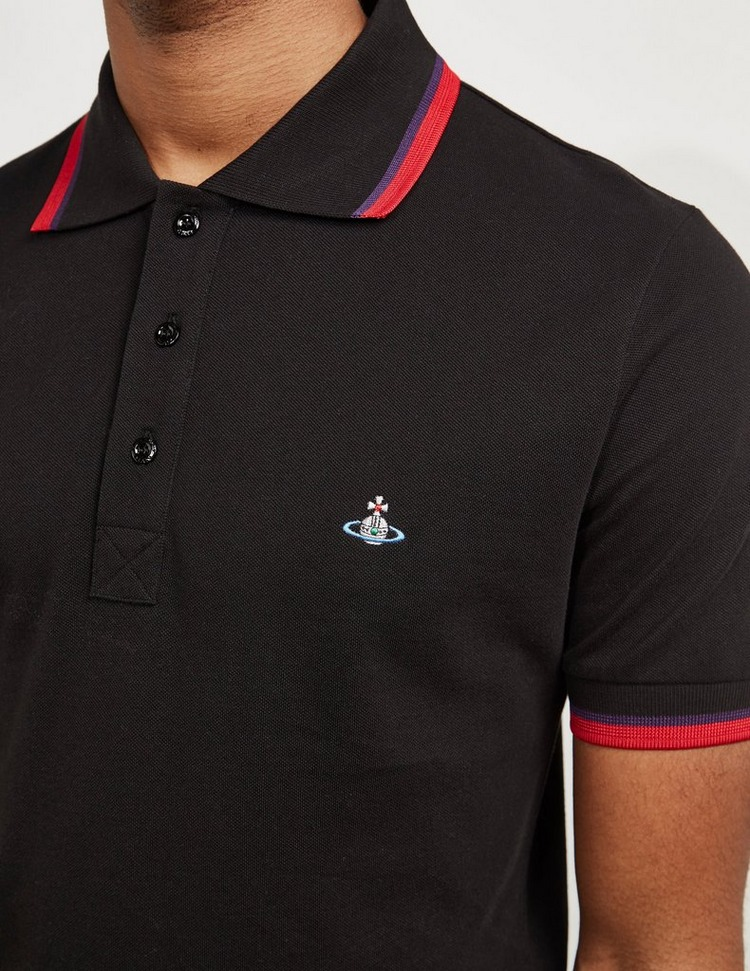 Vivienne Westwood Orb Short Sleeve Polo Shirt