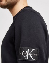 Calvin Klein Jeans Monogram Sleeve Badge Sweatshirt
