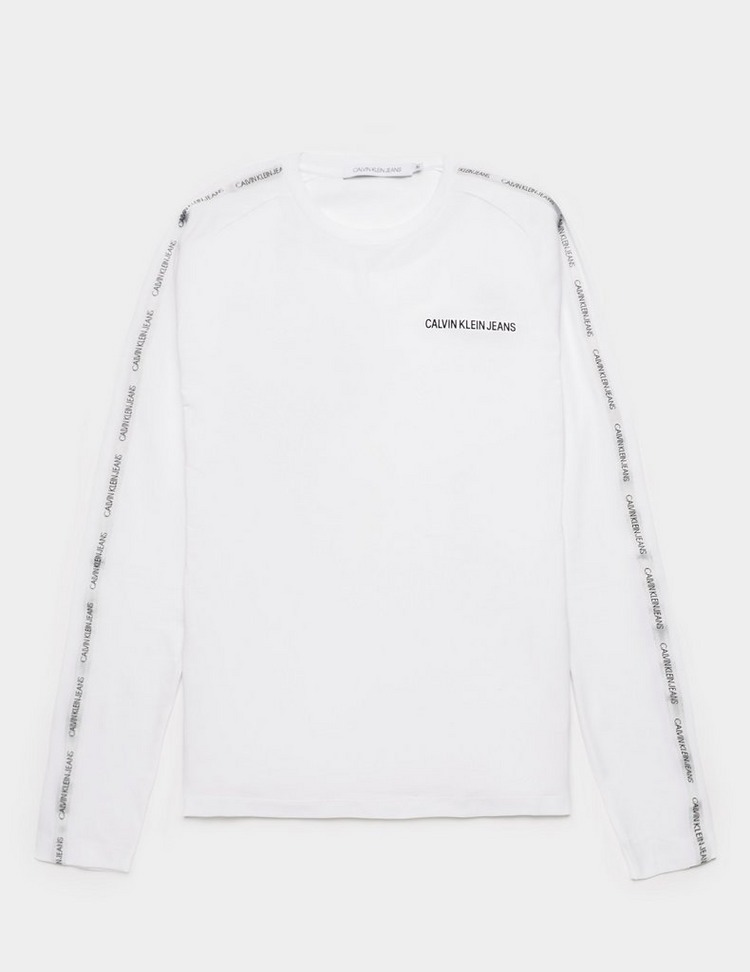 Calvin Klein Jeans Institutional Tape Long Sleeve T-Shirt