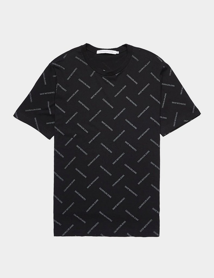Calvin Klein Institutional Repeat Short Sleeve T-Shirt