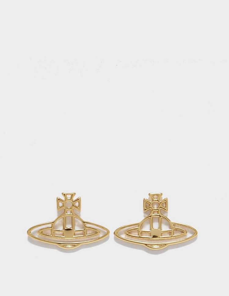 Vivienne Westwood Thin Lines Flat Stud Earring