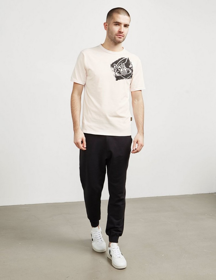 Vivienne Westwood Anlgomania Orb Print Short Sleeve T-Shirt