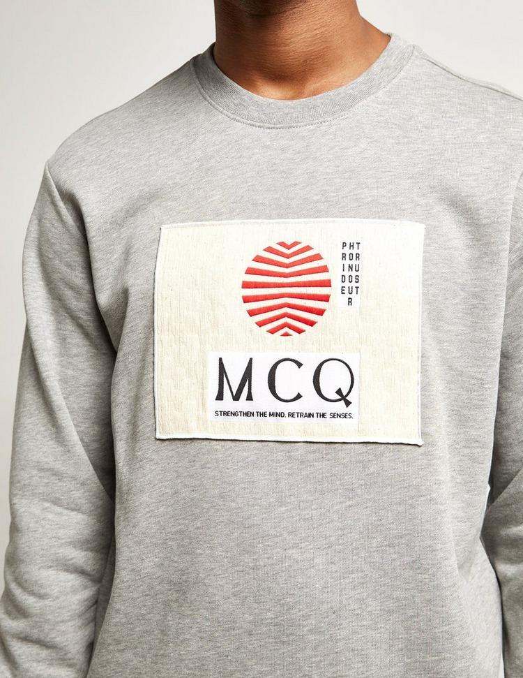 McQ Alexander McQueen Patch Sweatshirt