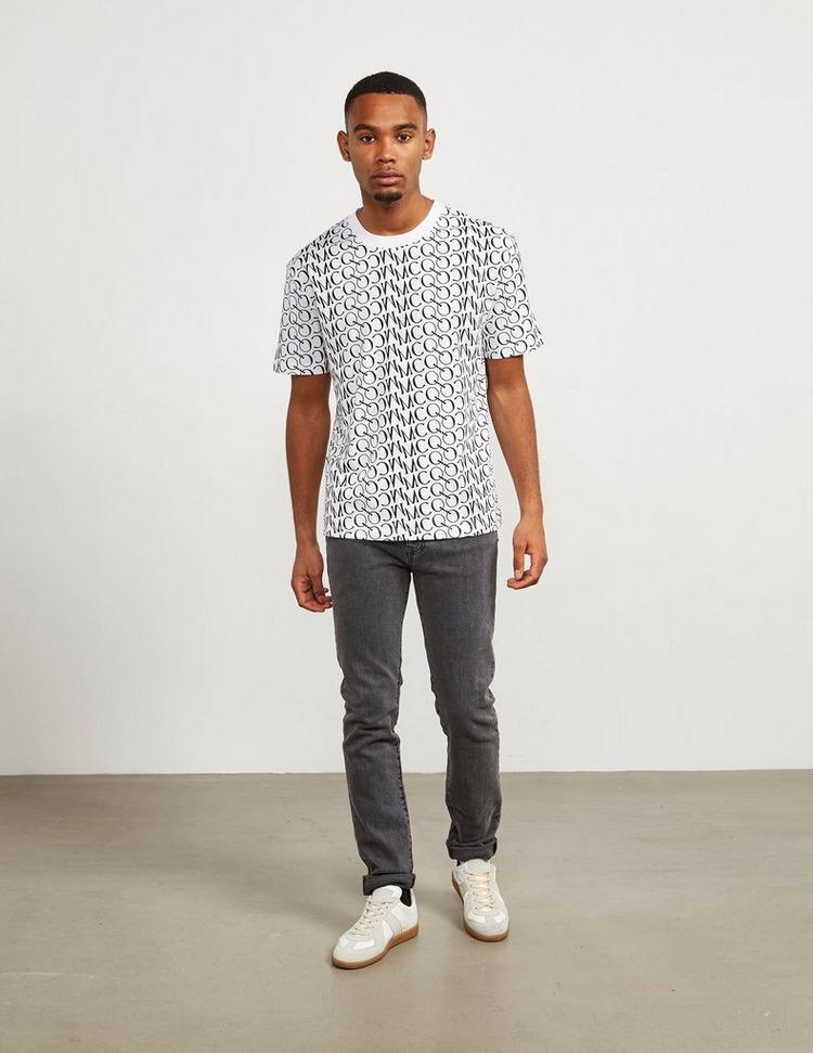 McQ Alexander McQueen Letter Short Sleeve T-Shirt