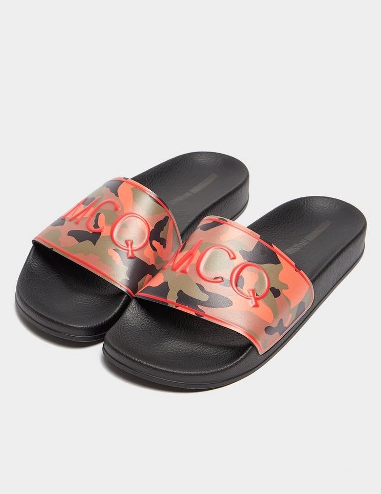 McQ Alexander McQueen Camouflage Slides