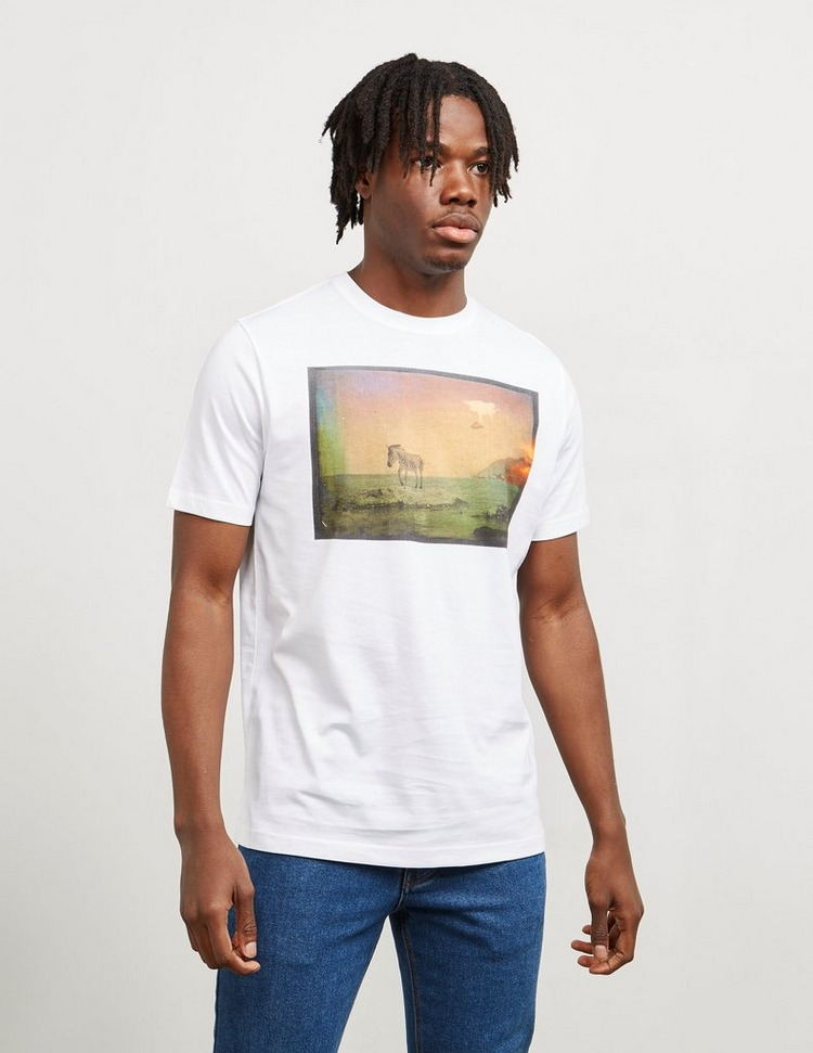 PS Paul Smith U.F.O. and Zebra Short Sleeve T-Shirt