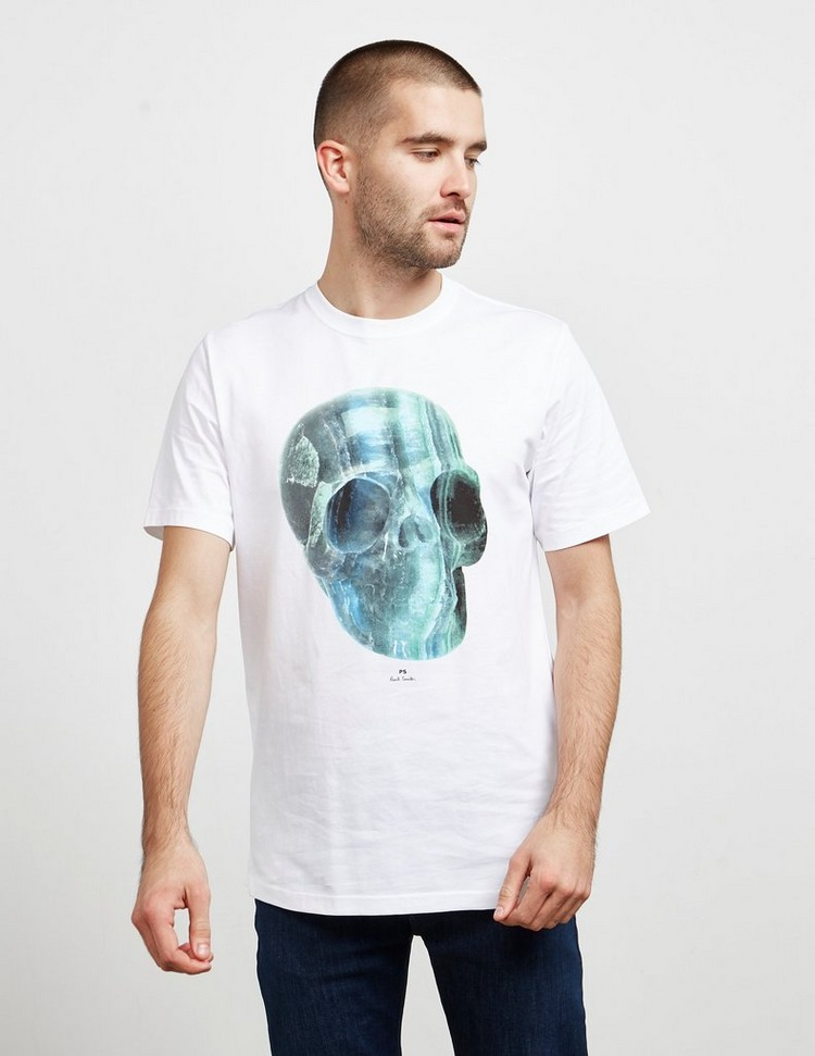 PS Paul Smith Crystal Skull Short Sleeve T-Shirt