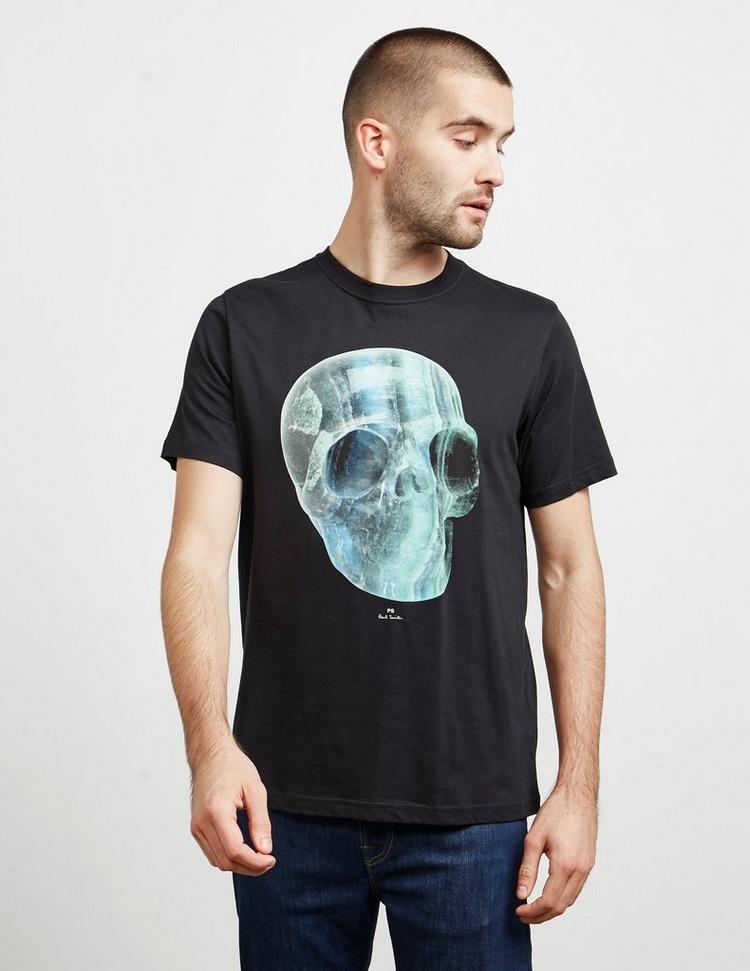 PS Paul Smith Crystal Skull Short Sleeve T-Shirt