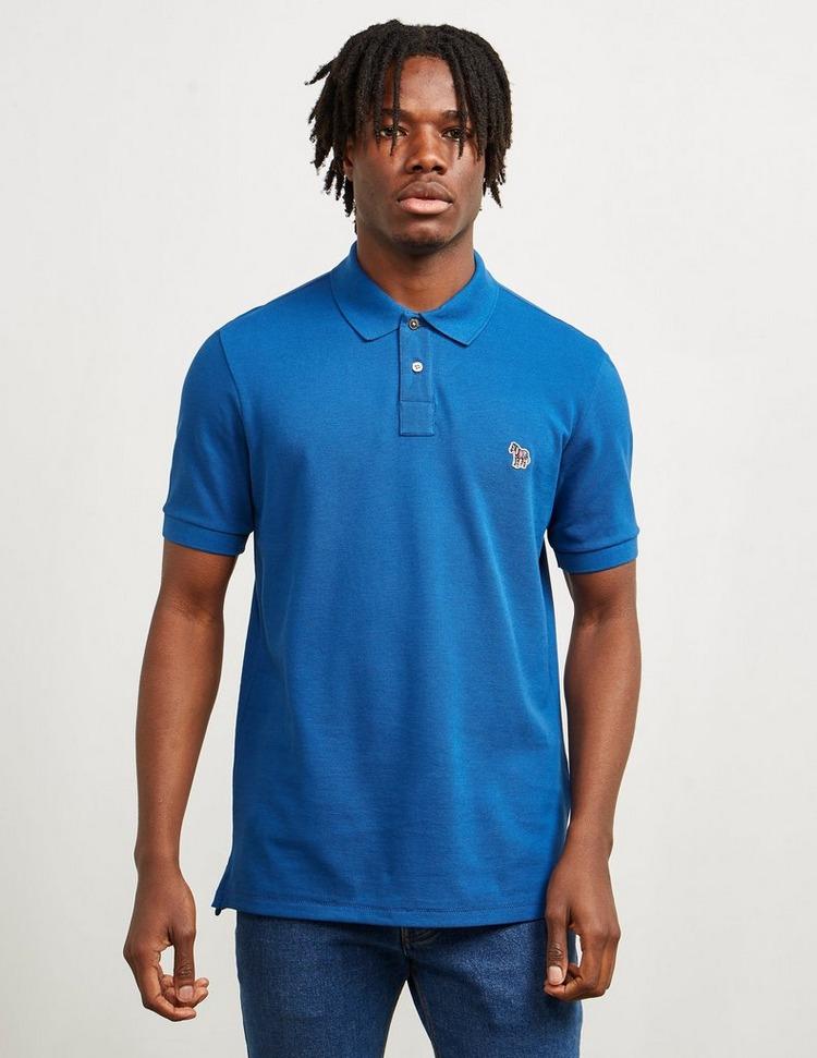 PS Paul Smith Basic Zebra Short Sleeve Polo Shirt
