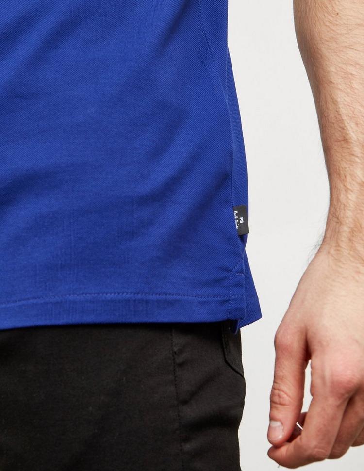 PS Paul Smith Zip Short Sleeve Polo Shirt