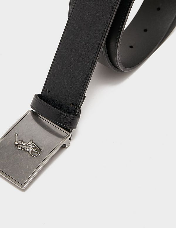 Polo Ralph Lauren Pony Plaque Belt