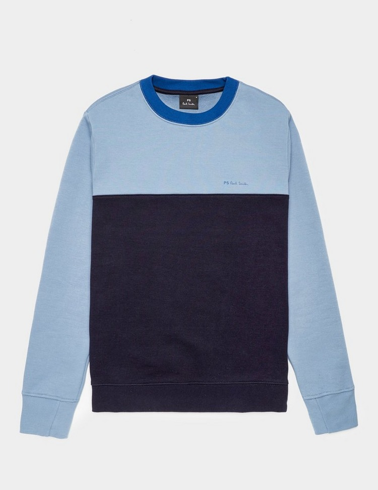 PS Paul Smith Colour Block Crew Sweatshirt