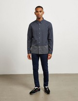 PS Paul Smith Cut and Sew Long Sleeve Print Shirt