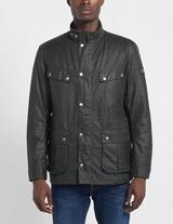Barbour International Duke Wax Padded Jacket