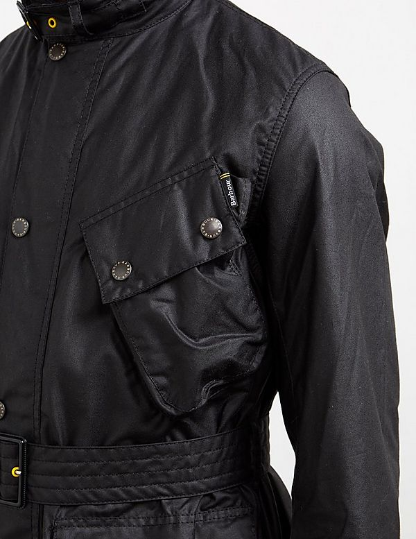 Barbour International Slim Waxed Jacket