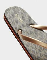Michael Kors Eva Flip Flops