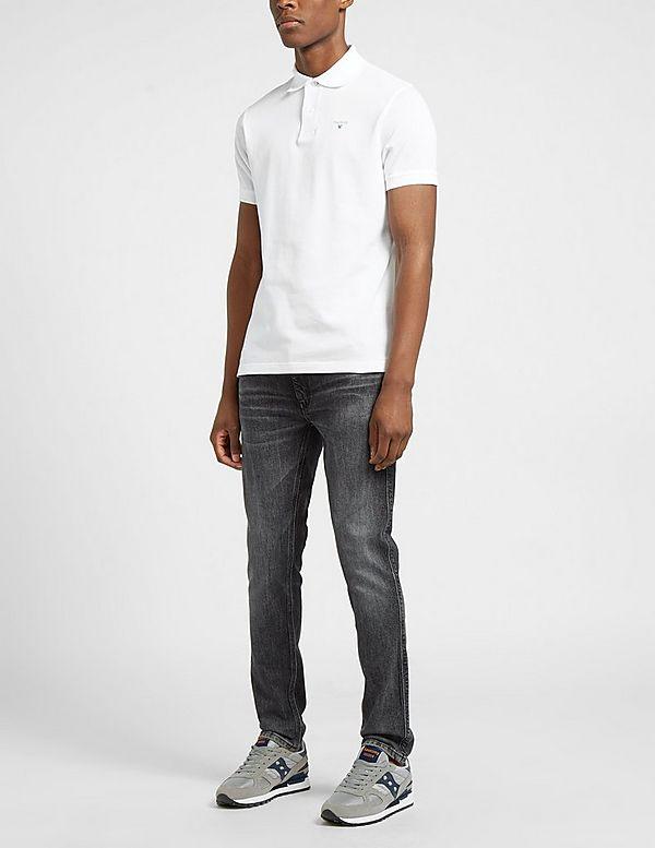 Barbour Tartan Pique Short Sleeve Polo Shirt