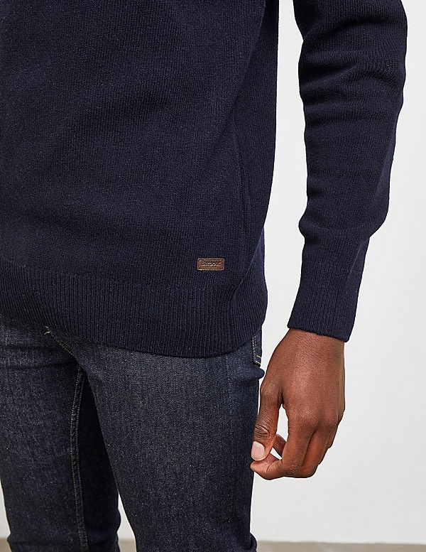 Barbour Patch Half Button Jumper