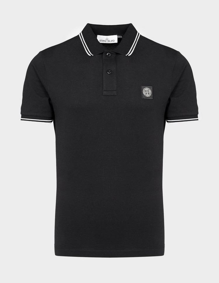 Stone Island Tipped Short Sleeve Polo Shirt