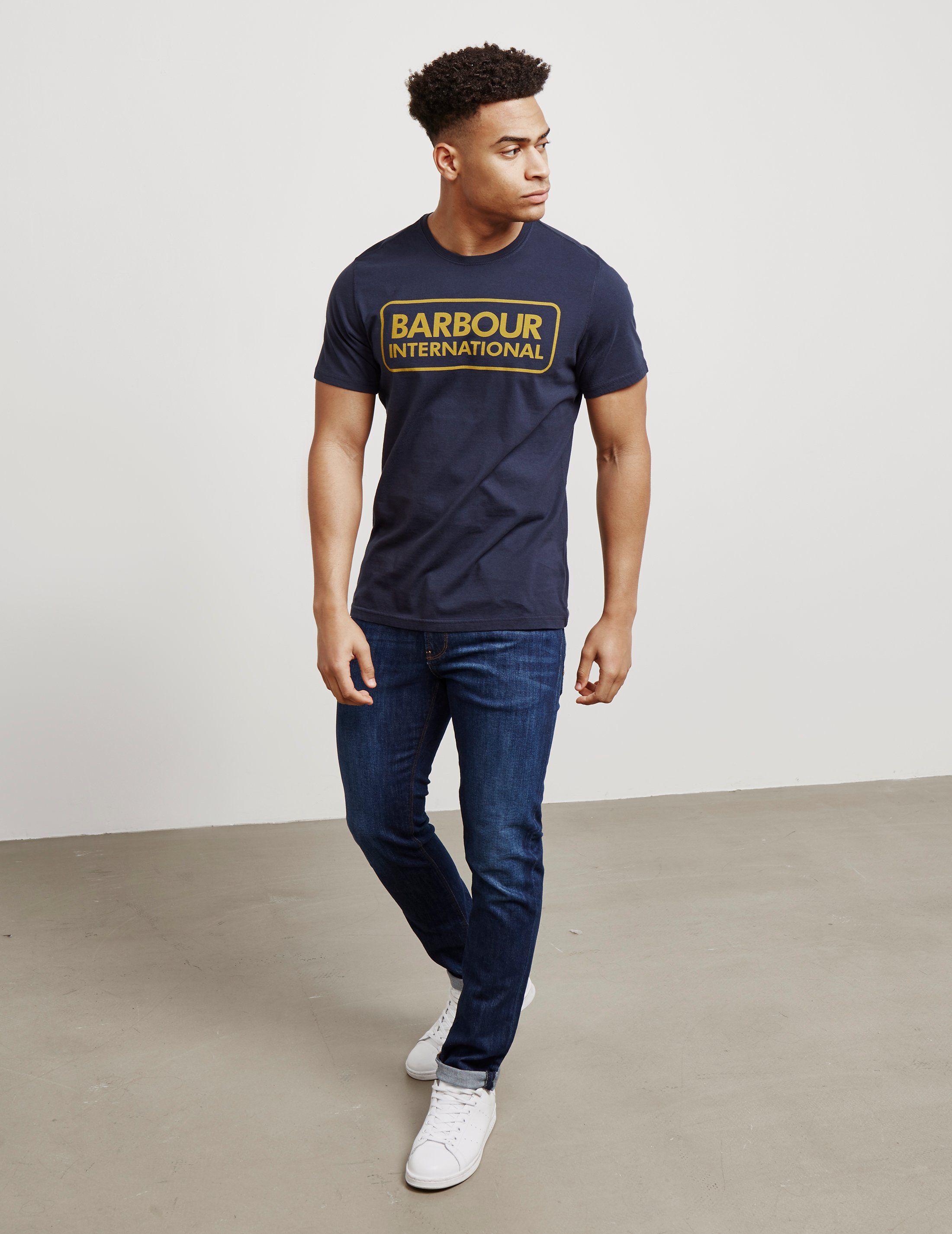 Barbour International International Logo Short Sleeve T-Shirt