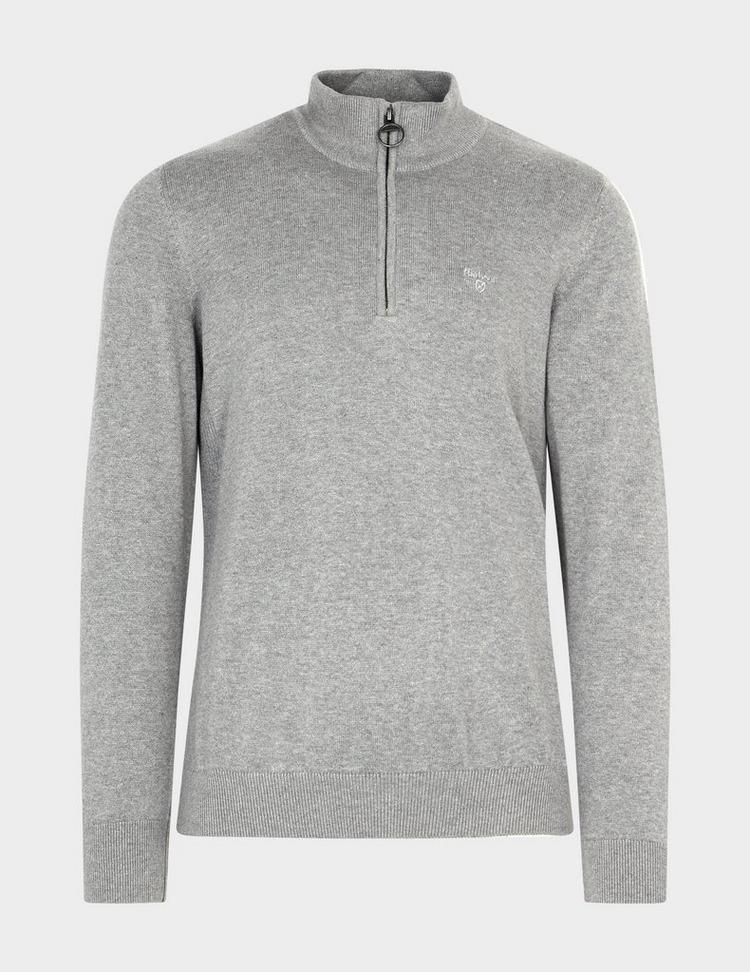 Barbour Half Zip Knitted Jumper