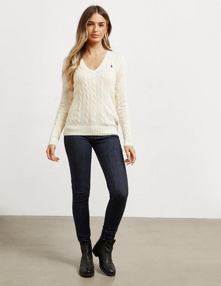 Polo Ralph Lauren Kimberly V Neck Knit Jumper