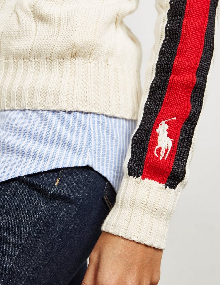 Polo Ralph Lauren Juliana Stripe Knit Hymoer