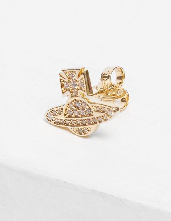 Vivienne Westwood Romina Pave Earrings