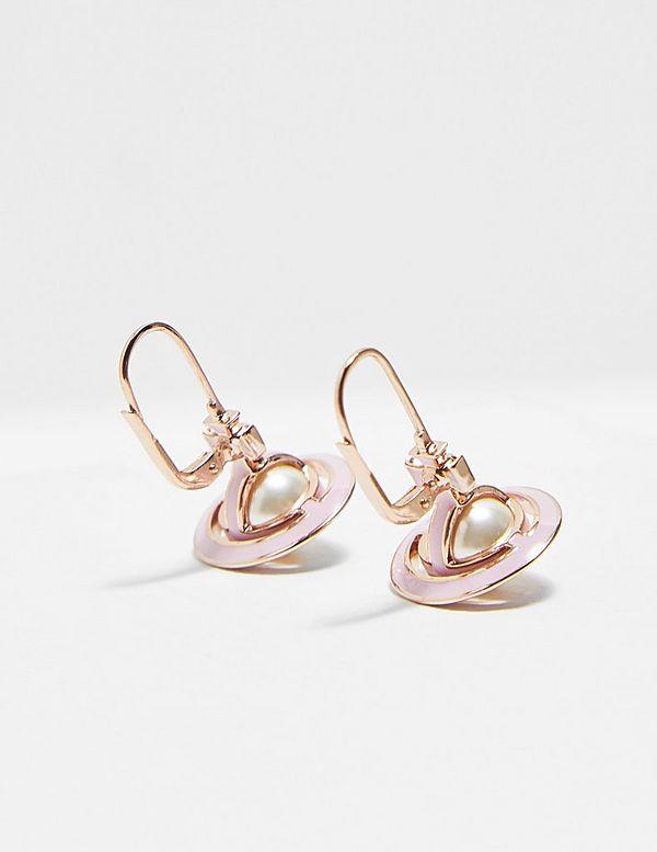Vivienne Westwood Iris 3D Orb Earrings
