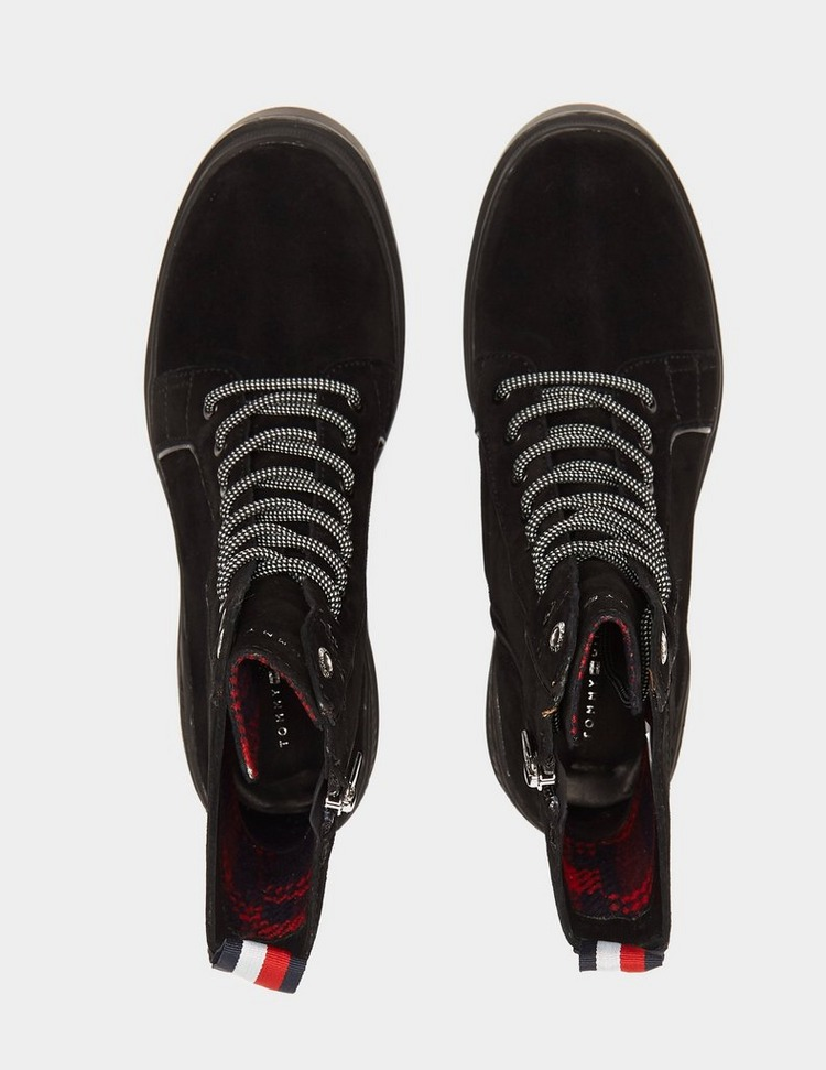 Tommy Hilfiger Lace Up Heeled Boots