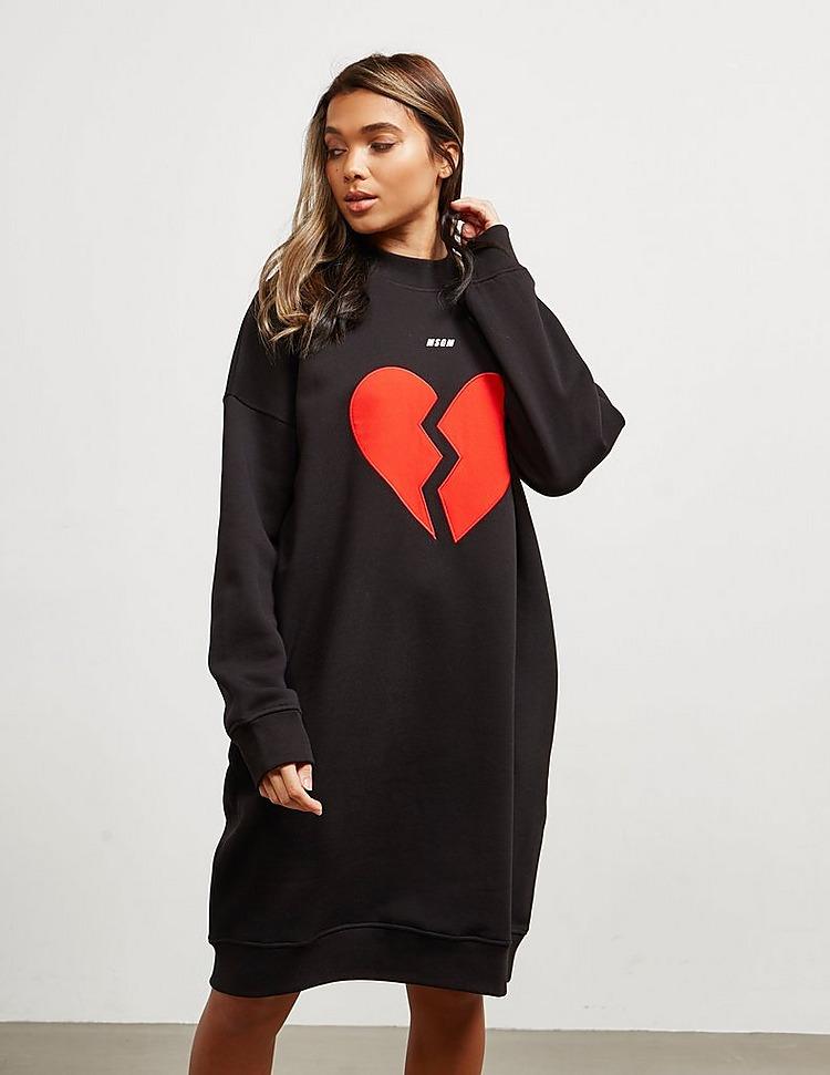 MSGM Broken Heart Dress