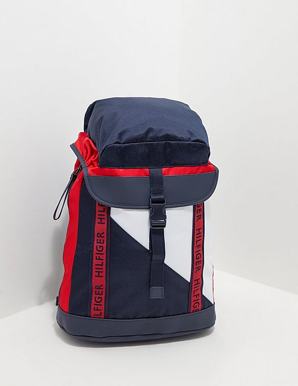 Tommy Hilfiger Large Tape Backpack