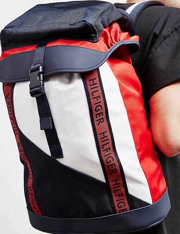 6472cd0febd Tommy Hilfiger Large Tape Backpack | Tessuti