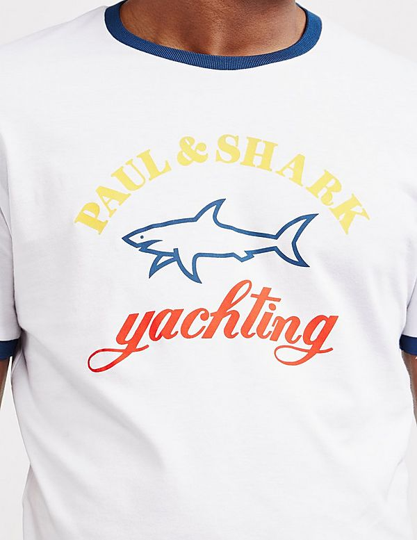 Paul and Shark Core Logo Short Sleeve T-Shirt