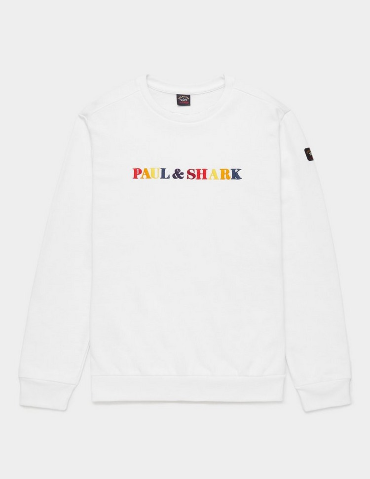 Paul and Shark Multi Colour Logo Sweatshirt