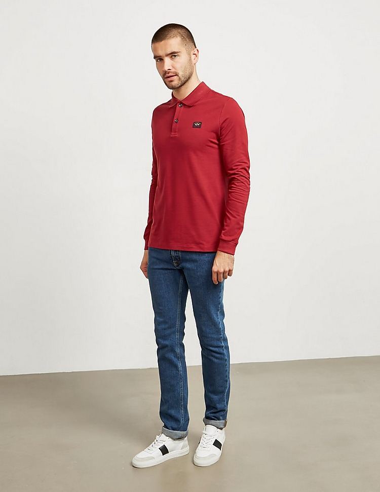 Paul and Shark Core Long Sleeve Polo Shirt