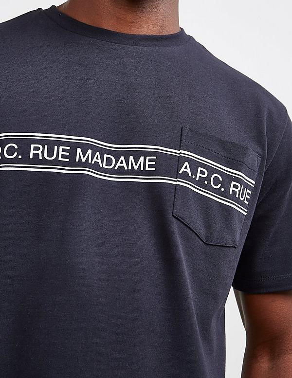 A.P.C Rue Madame Short Sleeve T-Shirt