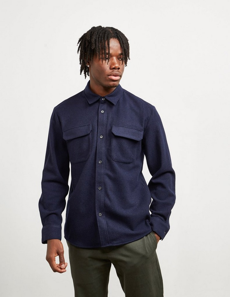 A.P.C Wool Long Sleeve Shirt