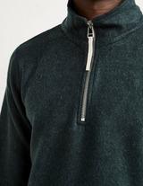 A.P.C Quart Zip Knit Jumper