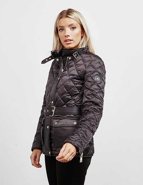 Holland Cooper Diamond Quilted Jacket