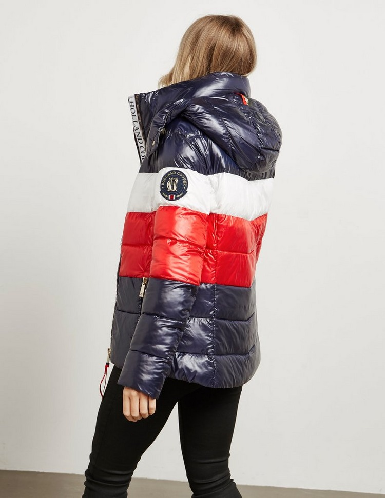 Holland Cooper Tri Colour Padded Jacket